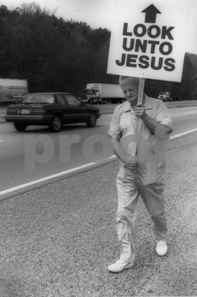 U.S. Highway 78, Walker County, Alabama, 1990 NOT FOR SALE