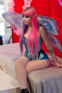 "Dr. Sketchy's South Florida Kid ""Fairy"" Cadet at 1310 Gallery"