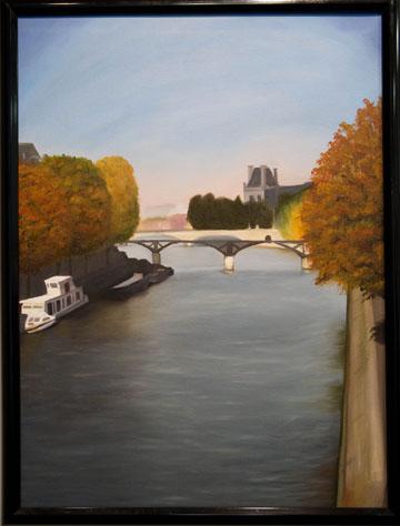 Stephanie Cuvar<br /> The Seine River