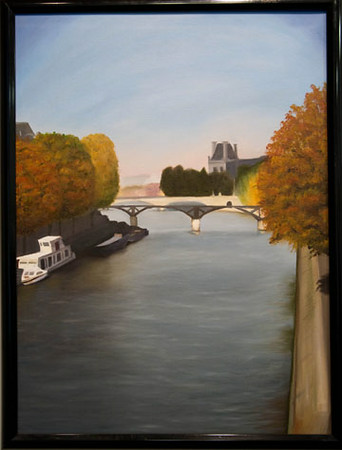 Stephanie Cuvar<br /> The Seine River