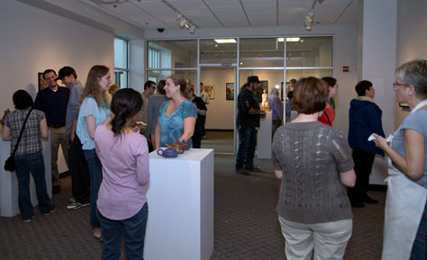 Spring 2014 Jr. Synthesis Show Opening
