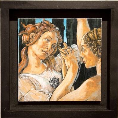 Michael Tucker<br /> Study of Botticelli