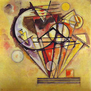 On Points - For Kandinsky, the circle represented the fourth dimension of time.