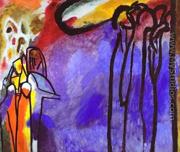 Improvisation 19. This is my favorite Kandinsky painting.