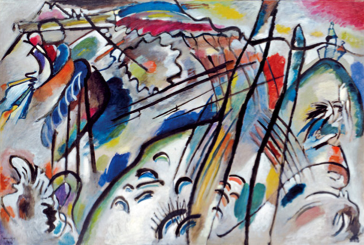 Improvisation 28, Apocalypse, 1912