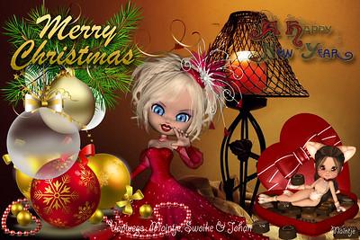 Kerst Kaartjes 2015 Maintjes 'FANTASIE' !..