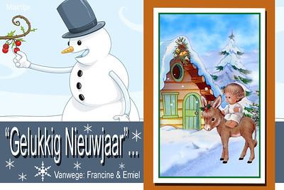 Kaartjes voor Francine 2012-2013-2014...
