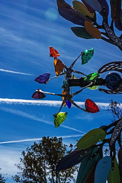 Kinetic art for the garden