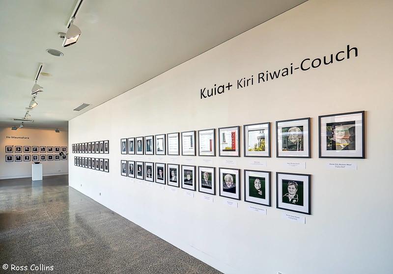 "Kiri Riwai-Couch ""Kuia+"" Exhibition, Aratoi Museum, Masterton, 5 May 2018"