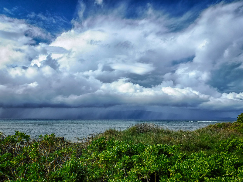 Squall off Molokai