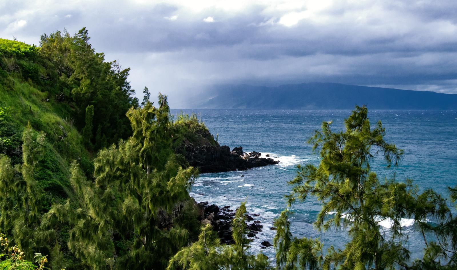 Molokai from Honolua Bay