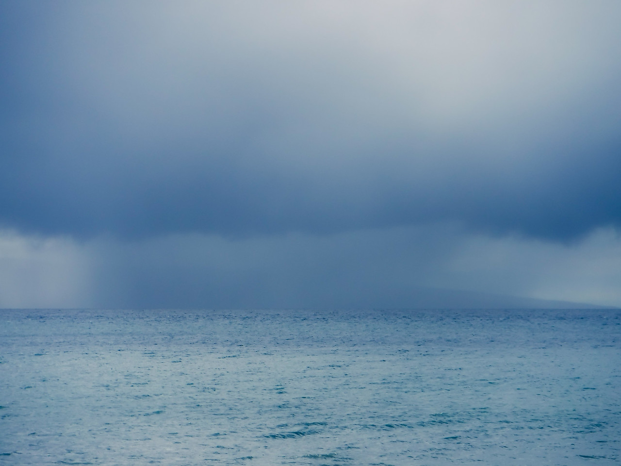 Rain, Lahaina Roads