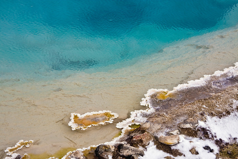 Hot-spring in Yellowstone National Park