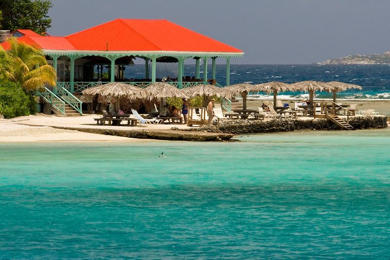 Red Roof in Marina Cay - British Virgin Islands (BVI)