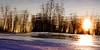 Reflected Sunset at Izaak Walton Park - Leesburg, Virginia