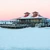 The Burlington Boathouse, closed for the season