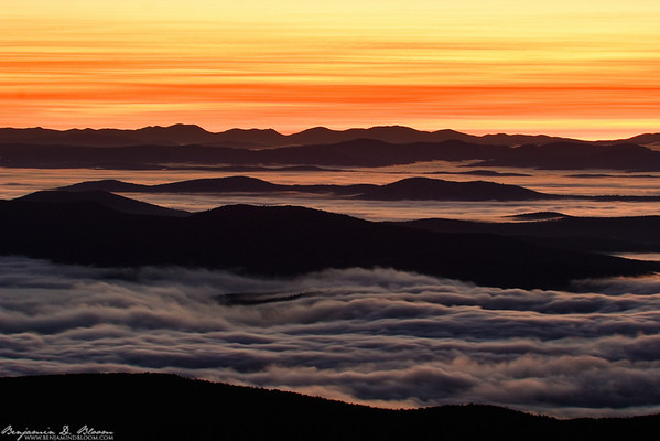Sunrise from Camel's Hump