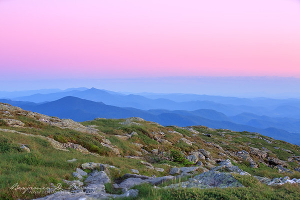 Independence Day on Mount Mansfield.  Stowe, Vermont