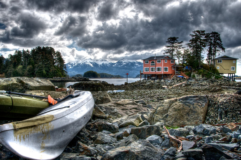 Sitka, Alaska at low tide. Photo by Jared Rogers