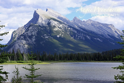 Mt. Rundle in Banff, Canada