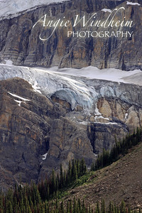 Crowfoot Glacier in Banff, Canada