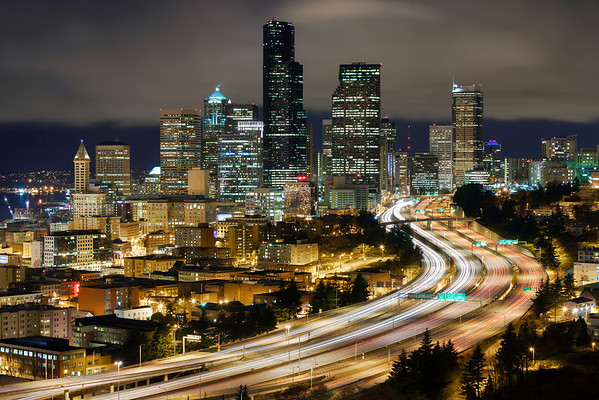 Seattle at Night