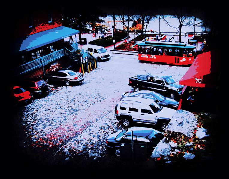 Parking on River Rd, Savannah, Ga