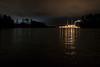 Duke Progress Energy Power Plant at Night #2