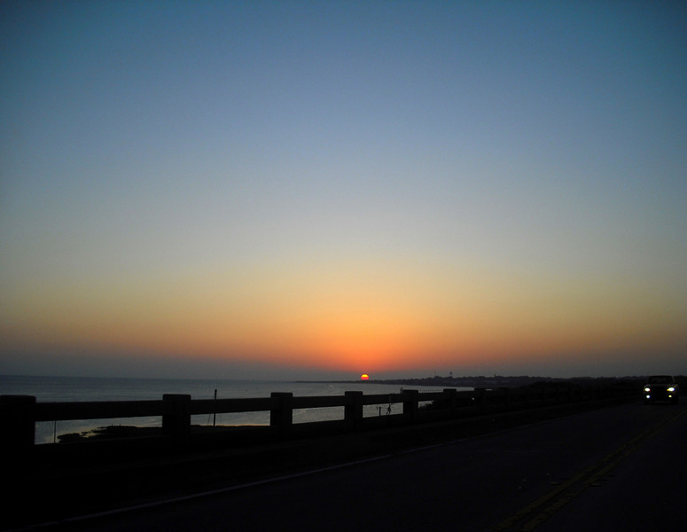 Entering Tybee Sunrise