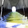 Under Tybee Pier