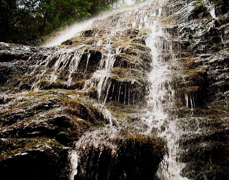 Waterfall in Cherokee Nc