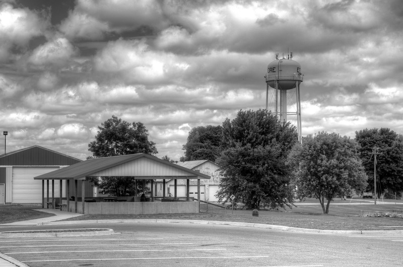 Edmore Water Tower