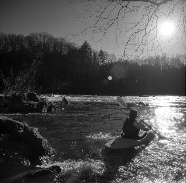 Ledges Whitewater Park Kayakers No. 7