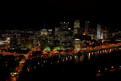 Light up night, Pittsburgh, PA