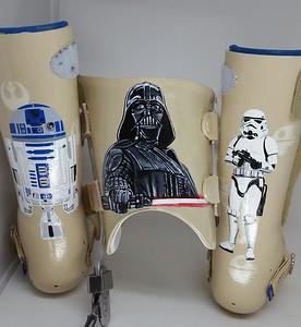 leg braces!