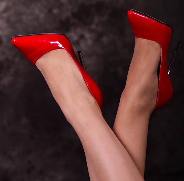 red shoes-6306