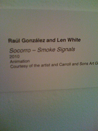 Len with Raul Gonzalez