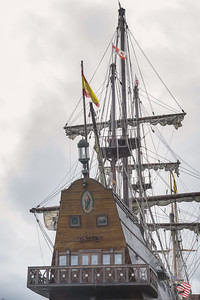 El Galeon  Spanish Tall Ship in the Great Lakes Michigan