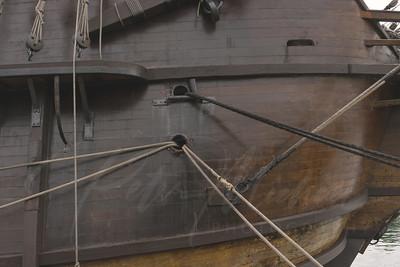 El Galeon  Spanish Tall Ship in the Great Lakes Michigan
