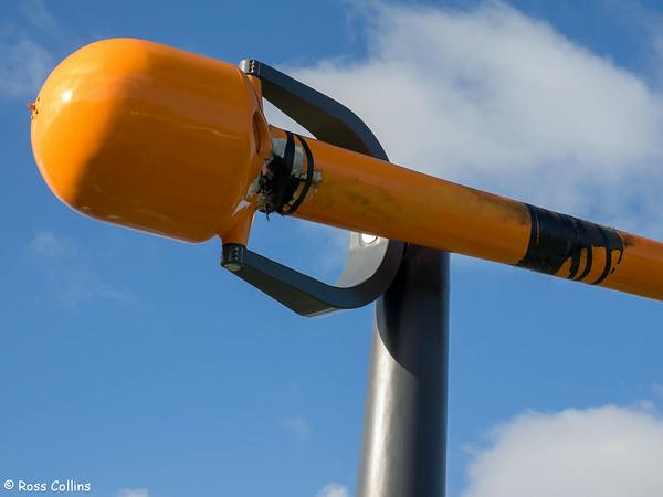 Two Days After Lightning Damages Wellington's Zephyrometer, 16 August 2014