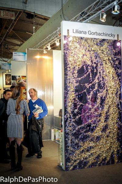 Liliana Gorbachincky ART EXpo 4-24-15