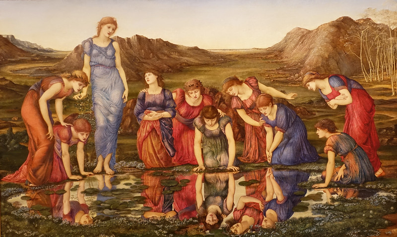 Gulbenkian_mirror of venus - Burne-Jones