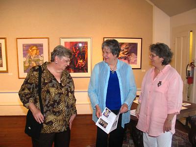 Live Oak Art Center Opening 07/28/07