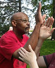 Kenny Green leads an active Tai Chi group in Columbia, Missouri.
