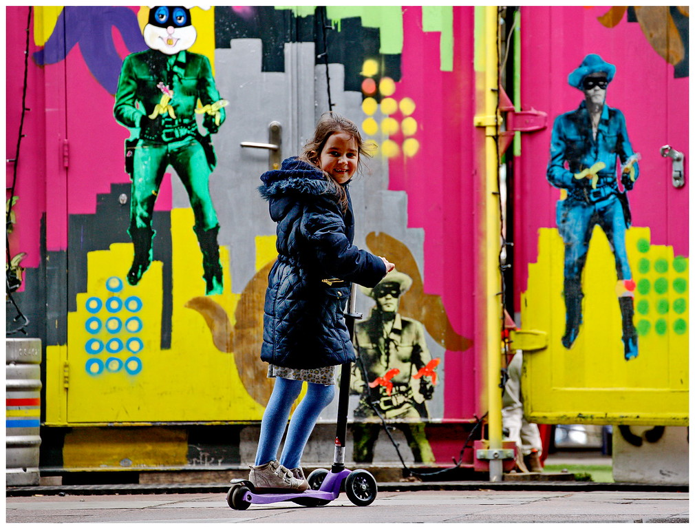 Scooter Girl - South Bank