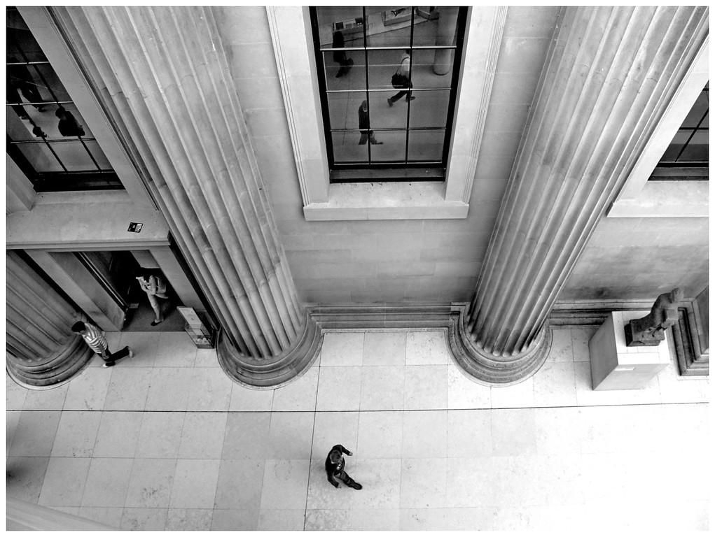 Figures in  Perspective - British Museum Court London