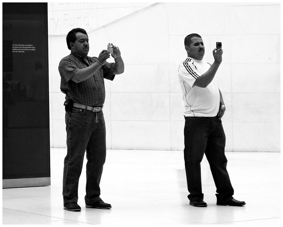 Big Guys - Small Cameras - British Museum Court