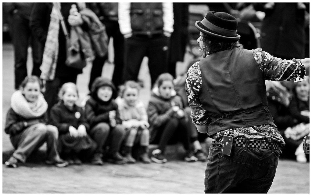 Taking a Bow - Covent Garden
