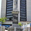 The Lincoln Monument in Lincoln Park next to Long Beach City Hall was originally dedicated on July 3, 1915.