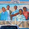 """A Neighborhood Perspective,"" was painted by José Loza on the Super Mex at 5660 Atlantic Avenue."